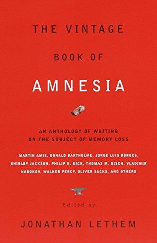 Vintage Book Of Amnesia By Jonathan Lethem