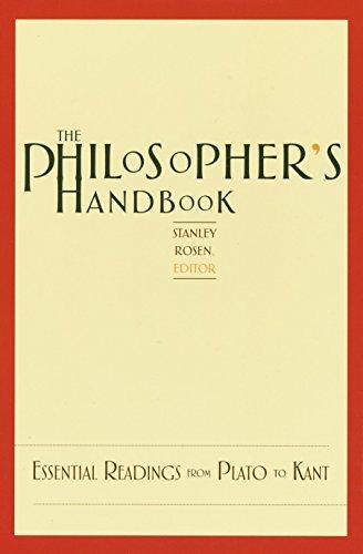 The Philosopher's Handbook By Stanley Rosen