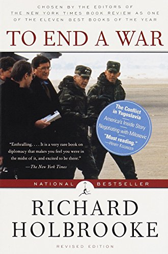 To End a War (Modern Library) By Richard Holbrooke