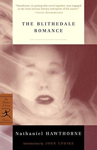 Mod Lib Blithedale Romance By Nathaniel Hawthorne