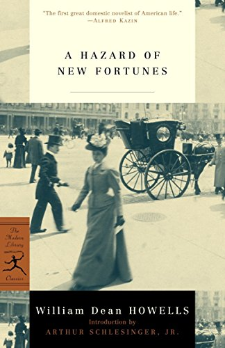 A Mod Lib Hazard Of New Fortunes By William D. Howells