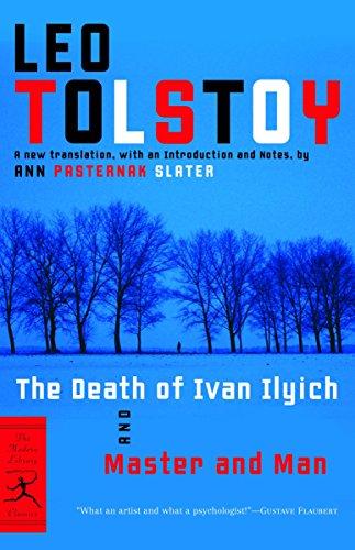 Mod Lib The Death Of Ivan Ilyich By Leo Tolstoy
