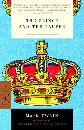 Mod Lib The Prince & The Pauper By Mark Twain