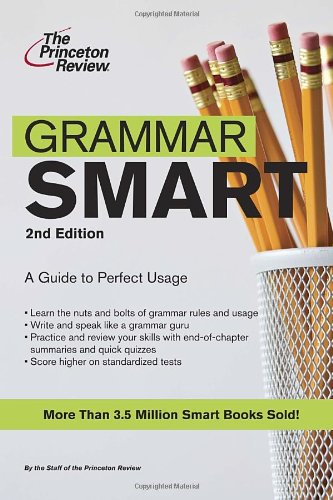 Princeton Review: Grammar Smart 2nd By Princeton Review