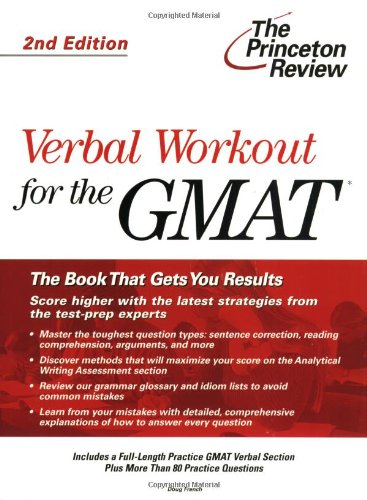 Verbal Workout for the GMAT By Doug French