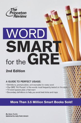 Word Smart for the GRE By Princeton Review