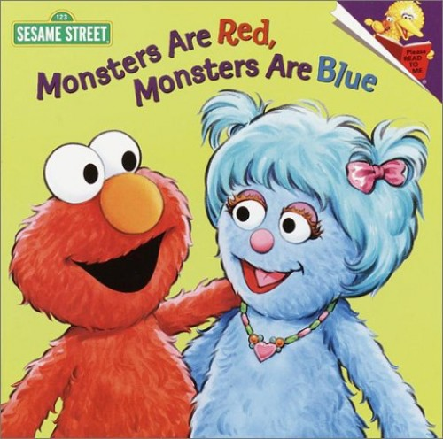 Monsters Are Red, Monsters Are Blue By Sarah Albee