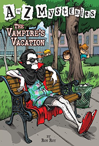 A to Z Mysteries: The Vampire's Vacation von Ron Roy