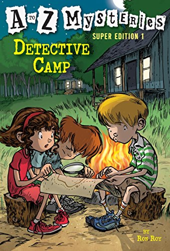 Detective Camp By Ron Roy