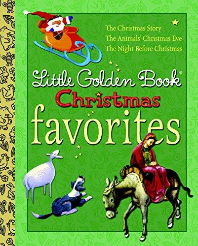 Little Golden Book Christmas Favorites By Moore Golden Books