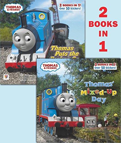 Thomas' Mixed-Up Day/Thomas Puts the Brakes on (Thomas & Friends) By Random House