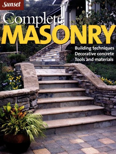 Complete Masonry By Steve Cory
