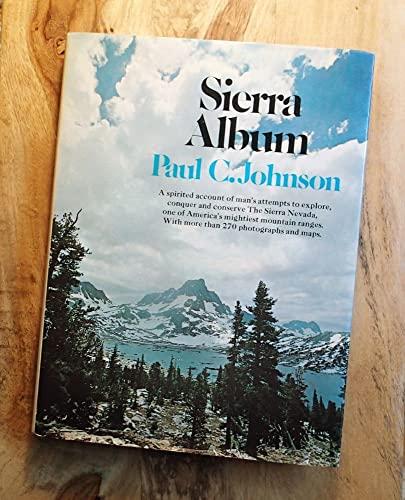 SIERRA ALBUM. By Paul. Johnson