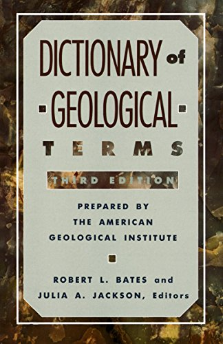Dictionary Of Geol Term 3e By Geolo Amer