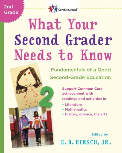 What Your Second Grader Needs to Know: Fundamentals of a Good Second-Grade Education (The core knowledge series) By E. D Hirsch