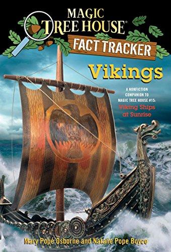 Magic Tree House Fact Tracker #33 Vikings By Mary Pope Osborne