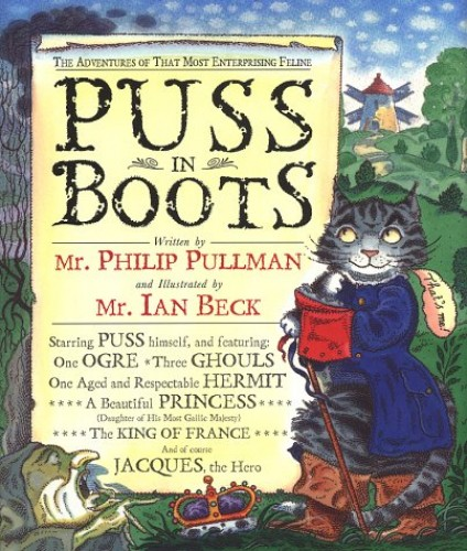 Puss in Boots the adventures of that most enter by Philip Pullman 0385410328