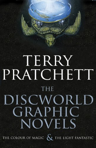 "The Discworld Graphic Novels: The Colour of Magic and The Light Fantastic: 25th Anniversary Edition: ""The Colour of Magic"", ""The Light Fantastic"" By Terry Pratchett"