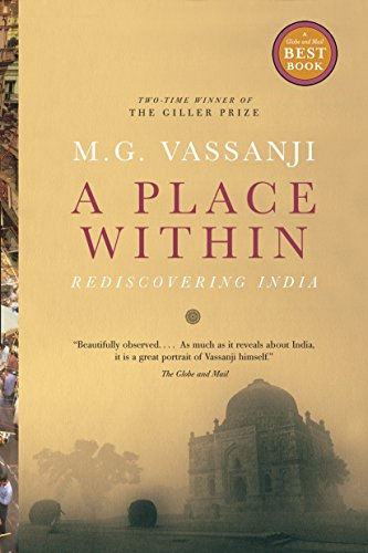 A Place Within By M G Vassanji