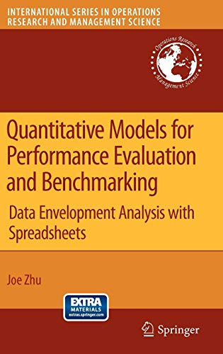 Quantitative Models for Performance Evaluation and Benchmarking By Joe Zhu