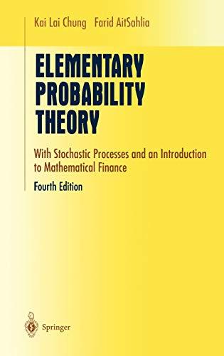 Elementary Probability Theory By Kai Lai Chung
