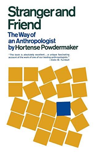 Stranger and Friend von Hortense Powdermaker