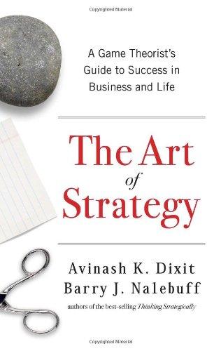 The Art of Strategy By Avinash K. Dixit (Princeton University)