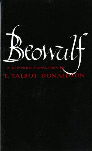 Beowulf By Translated by E. Talbot Donaldson (Indiana University)
