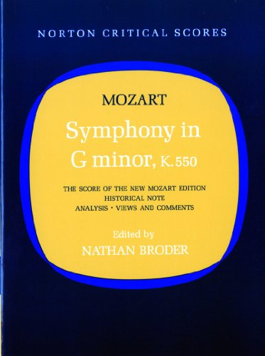 Symphony in G Minor, K. 550 By Wolfgang Amadeus Mozart