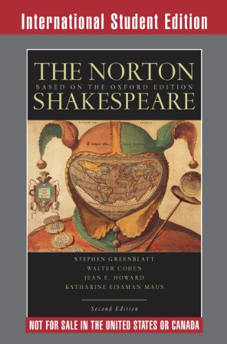 The Norton Shakespeare By General editor Stephen Greenblatt