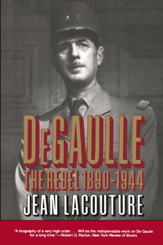DeGaulle By Jean Lacouture