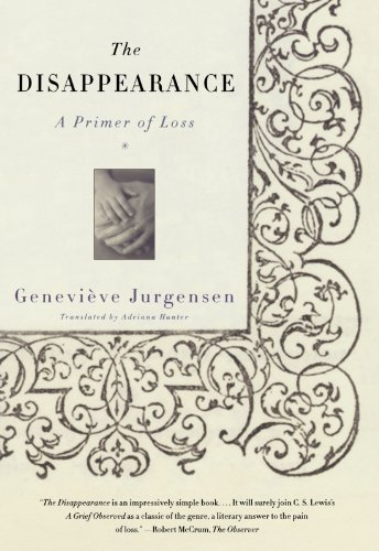 The Disappearance By Genevieve Jurgensen