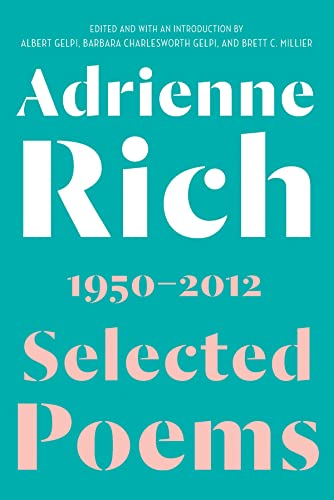 Selected Poems By Adrienne Rich