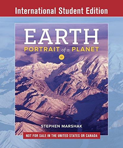 Earth By Stephen Marshak (University of Illinois, Urbana-Champaign)