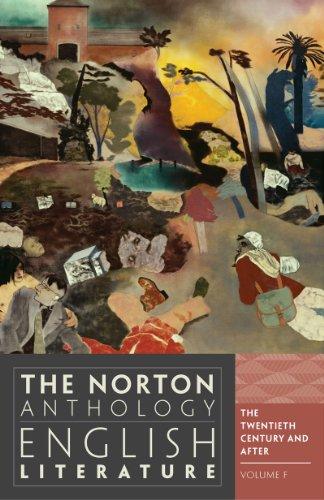 The Norton Anthology of English Literature By General editor Stephen Greenblatt