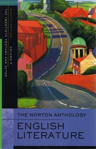 Norton Anthology of English Literature By Edited by Stephen Greenblatt