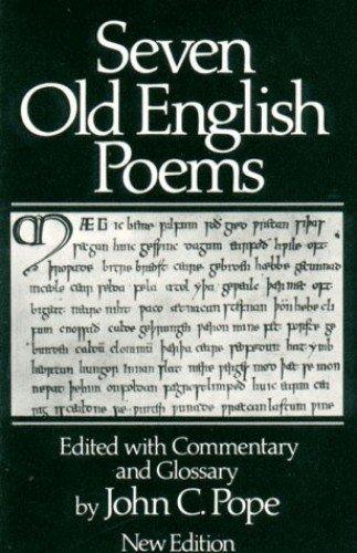 Seven Old English Poems By Alexander Pope