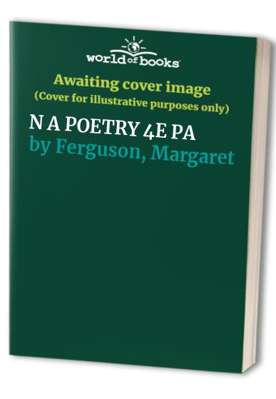 The Norton Anthology of Poetry By Edited by Alexander W. Allison