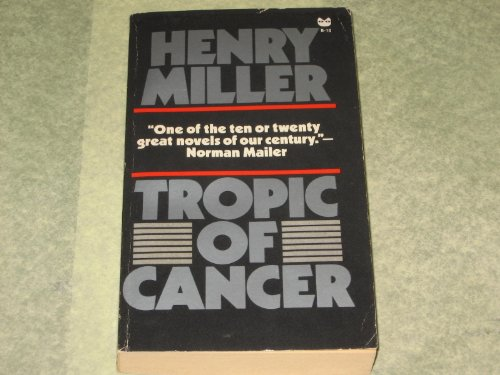Tropic of Cancer -Op/17 By Henry Miller