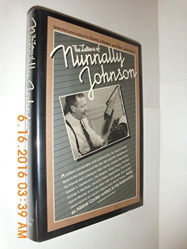 The Letters of Nunnally Johnson By Nunnally Johnson