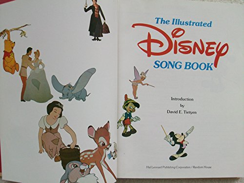 Illustrated Disney Song Book # By Da Introduced by Tietyen