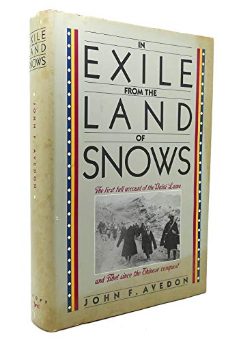In Exile Frm Lnd Snows By John F Avedon