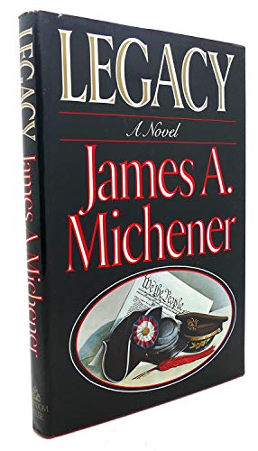Legacy By James A Michener
