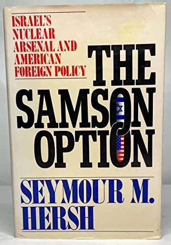 The Samson Option By Seymour M Hersh