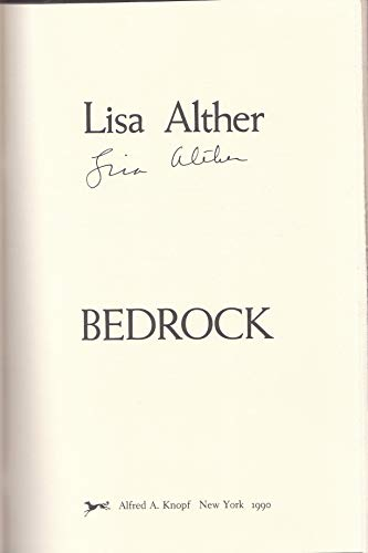 Bedrock By Lisa Alther