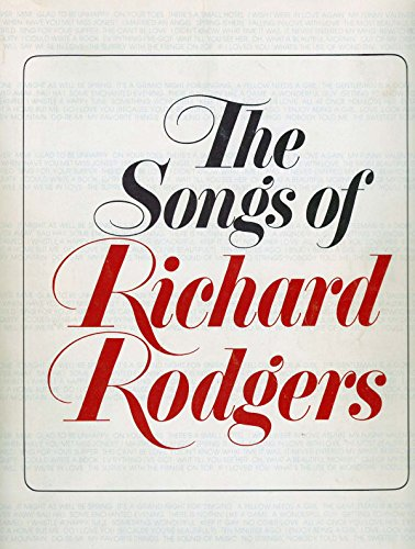 Songs of Richard Rodgers By Richard Rodgers