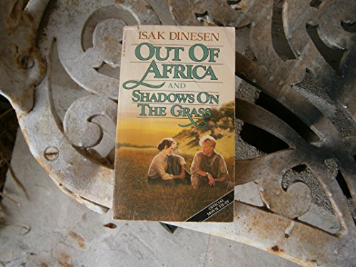 Out Africa & Shdw Gras By Isak Dinesen