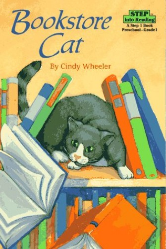 Bookstore Cat By Cindy Wheeler