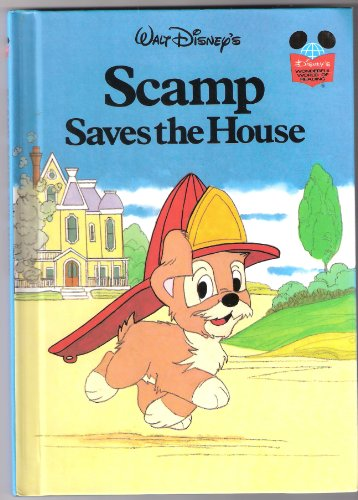 Walt Disney's Scamp Saves the House By Disney