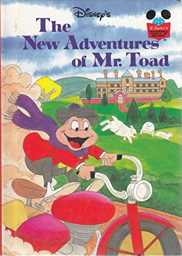 Walt Disney Productions Presents the New Adventures of Mr. Toad (Disney's Wonderful World of Reading) By Kenneth Grahame